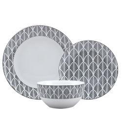 16ПК фарфора ужин керамическая посуда для оптовых с табличкой