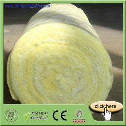 La construcción de manta de lana de vidrio aislante con certificado CE
