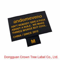 Banheira de venda da marca personalizada de Vestuário Vestuário Vestuário de imprensa de calor etiquetas