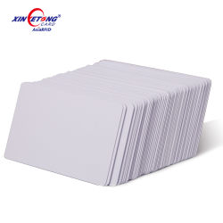Чистый белый ПВХ для струйной печати Карт с Printble покрытие для принтера Epson