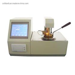Tpc-3000 Pensky-Martens automático de la norma ASTM D93 Medición de punto de inflamación de la copa cerrada probador contador
