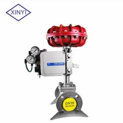 Valvola di regolazione pneumatica di flusso del vapore della valvola della pellicola Xysp25 con il posizionatore di SMC Yt1000 Tissin