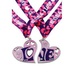 맞춤형 스포츠 골드 실버 브론즈 선물 메달