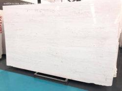 高品質の石造りの台所カウンタートップデザイン床の壁の装飾のための平板によって特定のサイズにカットされるタイルのAristonの白い大理石