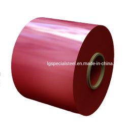 Lange Hot DIPPED Gl Gi PPGI PPGL 갈발륨 아연 사전 도색된 색상 코팅 강철 지붕판 코일