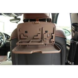 Alimento di plastica di corsa di automobile del supporto della bevanda di piegatura del sedile posteriore multifunzionale che pranza cassetto