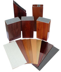 De houten Profielen van de Uitdrijving van het Aluminium van de Korrel