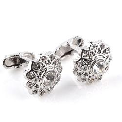 Personalizar os punhos em metal de esmalte alfinetes homens camisola casamento botões de punho