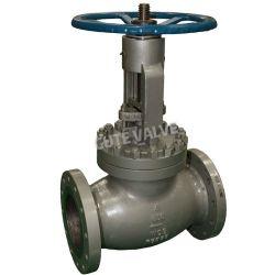 ANSI углеродистая сталь / нержавеющая сталь Y типа земного шара клапана