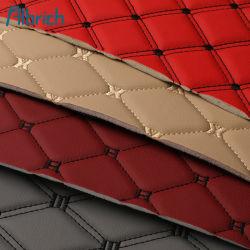 Стеганая Вышитый PVC Кожаные стены фона диван мягкая сумка жесткий кровать Bag губкой композитных валков из ПВХ катушки