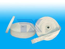 Cinta de fibra cerámica para el sellado de aislamiento térmico.