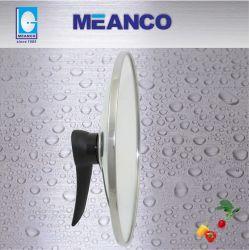 Coperchio di vetro, coperchio lento del vetro temperato del fornello della radura con la maniglia