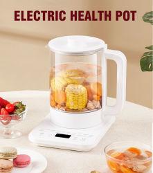 Appareils de cuisine électrique Smart bouilloire à thé de ragoût de verre Pot Santé multifonction