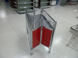 슈퍼마켓 프로모션 테이블 디스플레이 스탠드