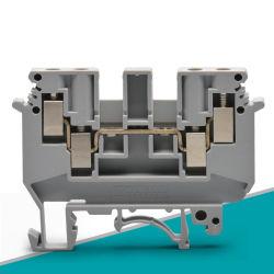 موصل كهربائي لكابل صناعي لكابل مجموعة أطراف زنبرك قضيب DIN