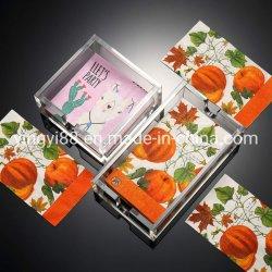 Yyb personnalisée en usine Boîte de tissus en acrylique de haute qualité