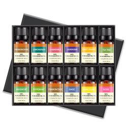 Os fabricantes Grosso Corpo difusor de aroma natural de perfume 100% puro Classe Terapêutica Fábrica 10ml Tea Tree orgânicos de Lavanda Aromaterapia Óleo Essencial
