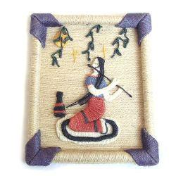 Imagem de tecido de cânhamo