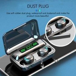 F9 Smart Touch écouteurs sans fil Bluetooth 5.0 vrai des écouteurs stéréo sans fil étanche antibruit de jeu