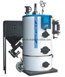 Chaudière à vapeur de boulettes de la biomasse automatique