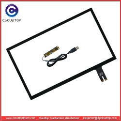 """Pantalla táctil de 23,8"""" con 10 Touch, Plug-and-play con interfaz USB"""