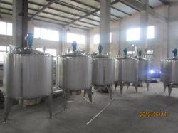 depósito de mistura de aço inoxidável com um Esterilizador Uht