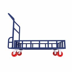 Pushcart piegante pieghevole del carrello di consegna saldato memoria