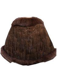 Nova moda elegante mulher nobre quente luxuosos tecidos de peles com pêlo Capes Stoles Poncho xale de peles de vison
