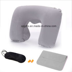 Forme en U de gros frais de voyage cou oreiller gonflable oreiller de l'air