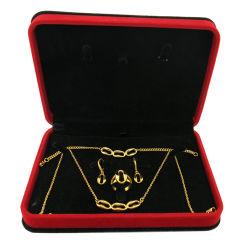 18k de goud Geplateerde Gift van de Juwelen van de Herinnering van de Douane van de Gift Vastgestelde voor de Gift van de Bevordering van Kerstmis van de Activiteiten van het Team