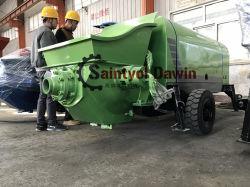 Shotcrete van de Dieselmotor van Lovol 1004-4 de Natte Bespoten Concrete Concrete Pomp van de Machine en de Concrete Machine van de Nevel