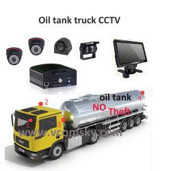 Mini-carte SD DU DISQUE DUR Mobile DVR avec fonction d'enregistrement du cycle de surveillance CCTV H. 264 4CH Voiture DVR pour voiture DVR Sécurité