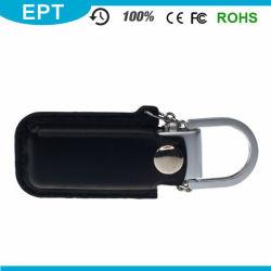 محرك أقراص USB محمول لجلد الشعار المصنع المخصص بالجملة (EB071)