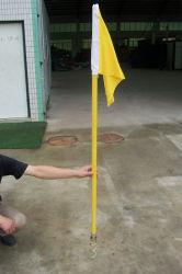 Drapeaux d'angle de soccer pour le terrain de soccer / Football