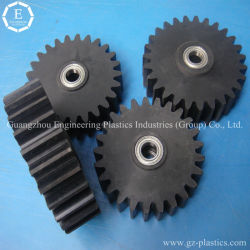 Высокопрочный пластиковый шестерни, небольшой пластиковый колеса шестерни и шестерни пресс-формы