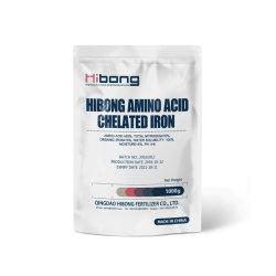 L'amminoacido ha chelatato il fertilizzante del ferro, chelato del ferro per l'agricoltura