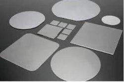 """2 """" pour optique de Saphir lentille LED cristal de saphir verre de montre le saphir pour lentille optique"""