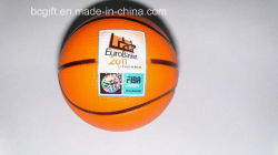 Novos itens espuma de PU basquetebol (FIBA) Forma Bola de estresse