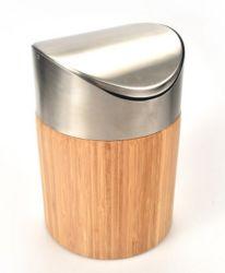 Le Bambou Mini Corbeille La Corbeille pour le ménage ou de bureau
