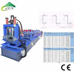 CZ Purlin формирования рулона Machine-Automatic C Purlin машины