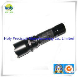 CNC обрабатывающий алюминиевый корпус фонарика трубки для фонарика или электрический фонарик