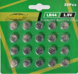 1.5V AG13 Lr44 Tasten-Zellen-alkalische Batterie