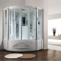 안마 통 (M-8208)를 가진 Monalisa 목욕탕 디자인 증기 샤워실