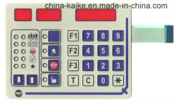 Ведьма прозрачное красное лоснистое Windows клавиатуры мембраны арабская