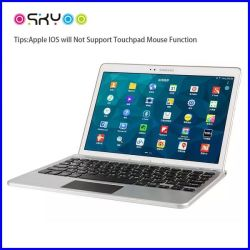 Tablet PC inalámbrico Bluetooth touchpad teclado
