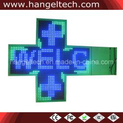 Cruz de LED programáveis Display Board para farmácia do hospital, clínica,