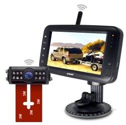 """170° sans fil Caméra arrière Voiture/RV/caravane avec moniteur sans fil 4,3"""" de rétroviseur"""