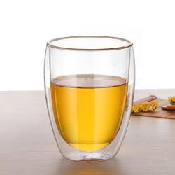 350 мл (12 унций) двойные стенки стекло для приготовления чая и кофе чашки кружки