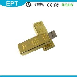 ギフトの金属USBのペンドライバー(EZ013)のためのカスタマイズされたロゴの金8GB USBのフラッシュ駆動機構
