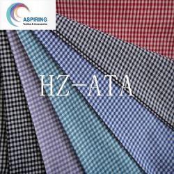 Shirts를 위한 형식 Fabric Polyester Cotton Yarn Dyed Fabric Woven Check Stripe Fabric